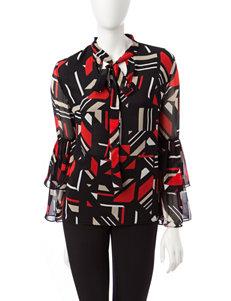 Calvin Klein Black / Brown Shirts & Blouses