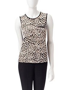 Calvin Klein Leopard Shirts & Blouses