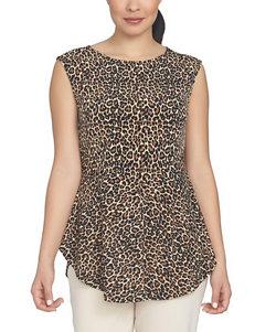 Chaus Cheetah Shirts & Blouses