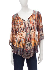 Energe Orange Shirts & Blouses