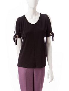 Kasper Black Shirts & Blouses Tunics
