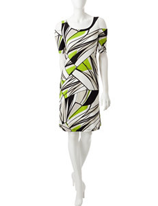 Kasper Green Everyday & Casual A-line Dresses
