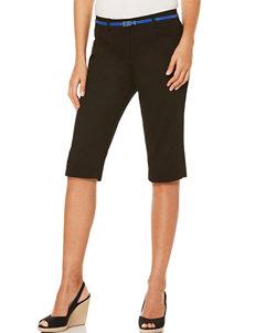 Rafaella Black Everyday & Casual Tailored Shorts