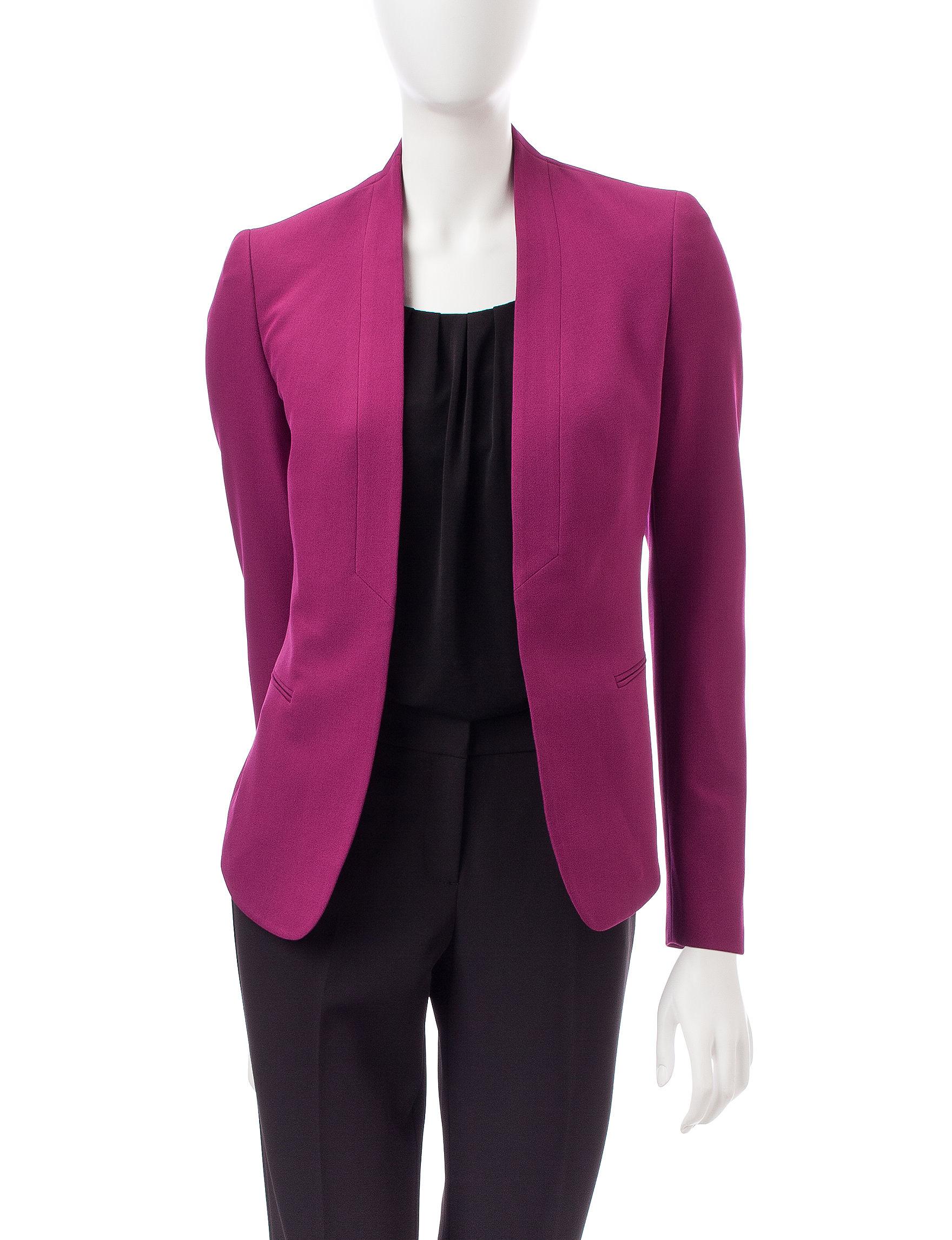Anne Klein Pink Lightweight Jackets & Blazers