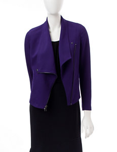 Anne Klein Purple Lightweight Jackets & Blazers