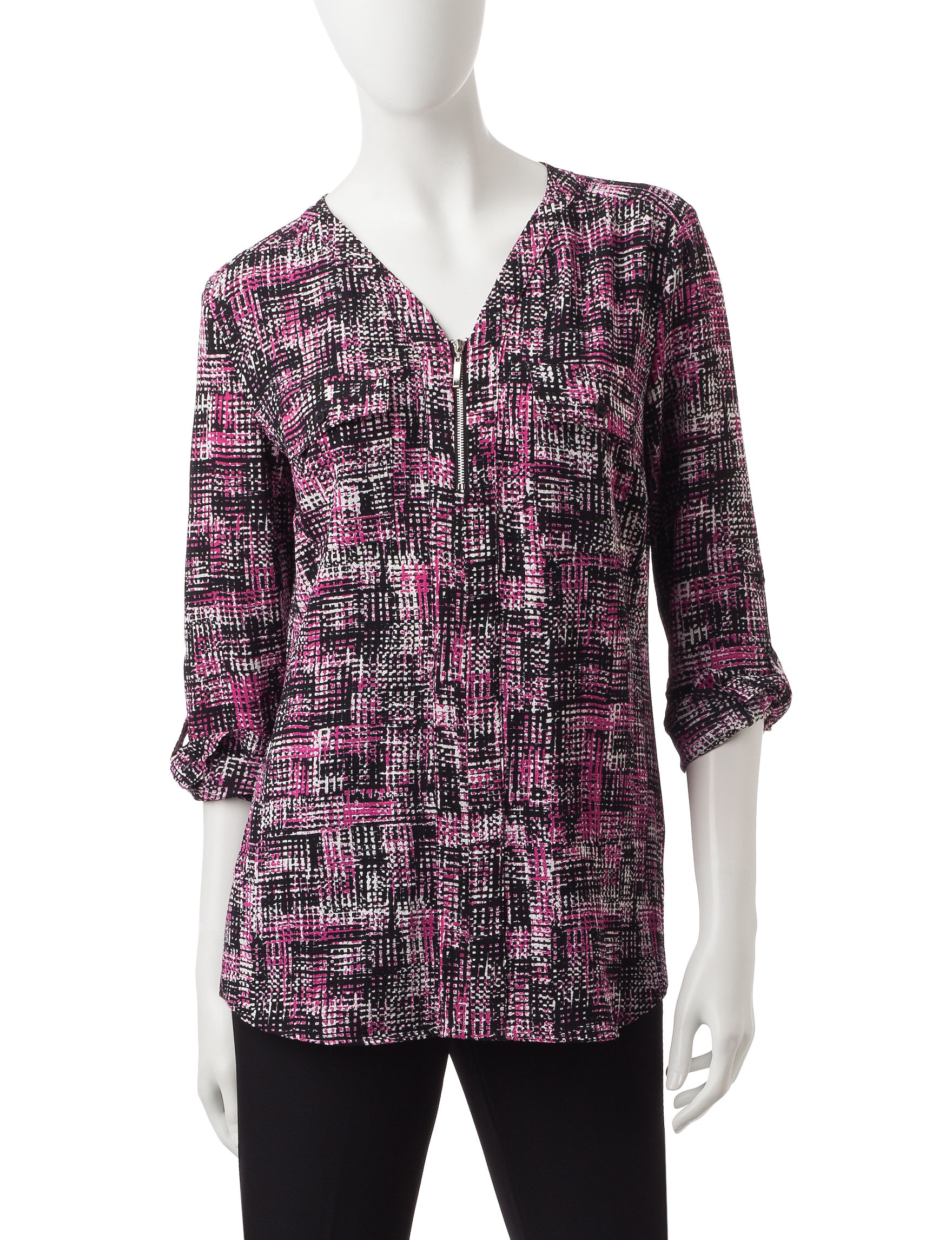 Valerie Stevens Medium Pink Shirts & Blouses