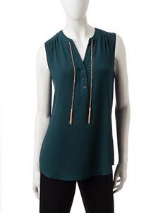 Rebecca Malone Green Shirts & Blouses