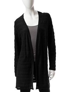 Jeanne Pierre Black Cardigans Sweaters