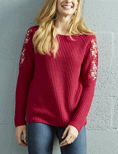 Hannah Sangria Pull-overs Sweaters