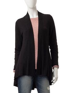 Hannah Black Cardigans Sweaters