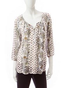Valerie Stevens Gold Shirts & Blouses