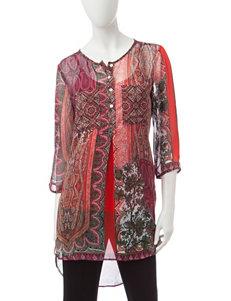 Valerie Stevens Wine Shirts & Blouses