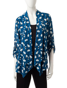 Sara Michelle Blue Shirts & Blouses