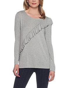 Skyes The Limit Grey Shirts & Blouses