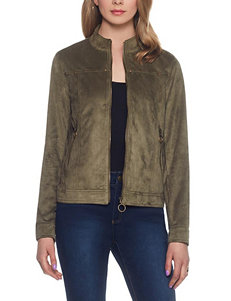 Skyes The Limit Green Lightweight Jackets & Blazers
