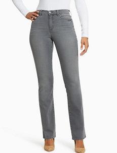 Gloria Vanderbilt Grey Bootcut Curvy Soft Pants