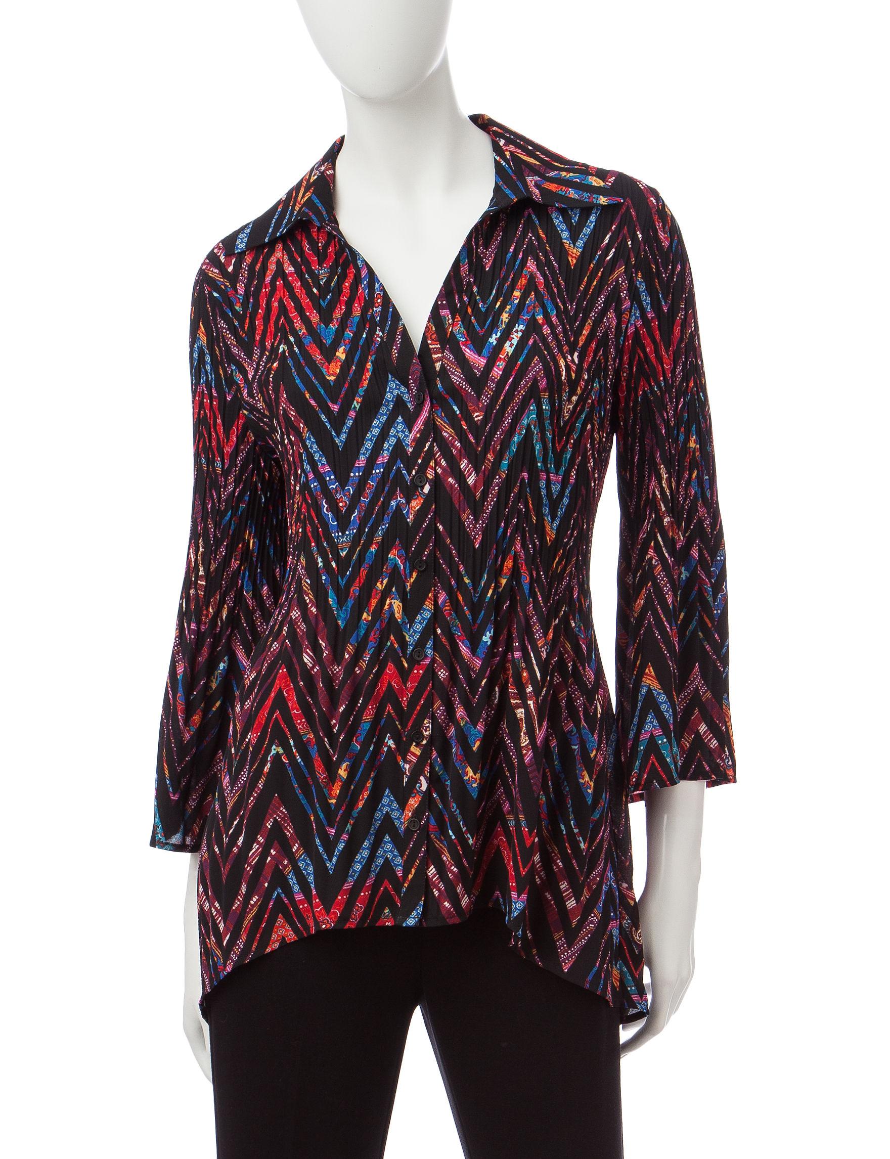 Valerie Stevens Multi Shirts & Blouses