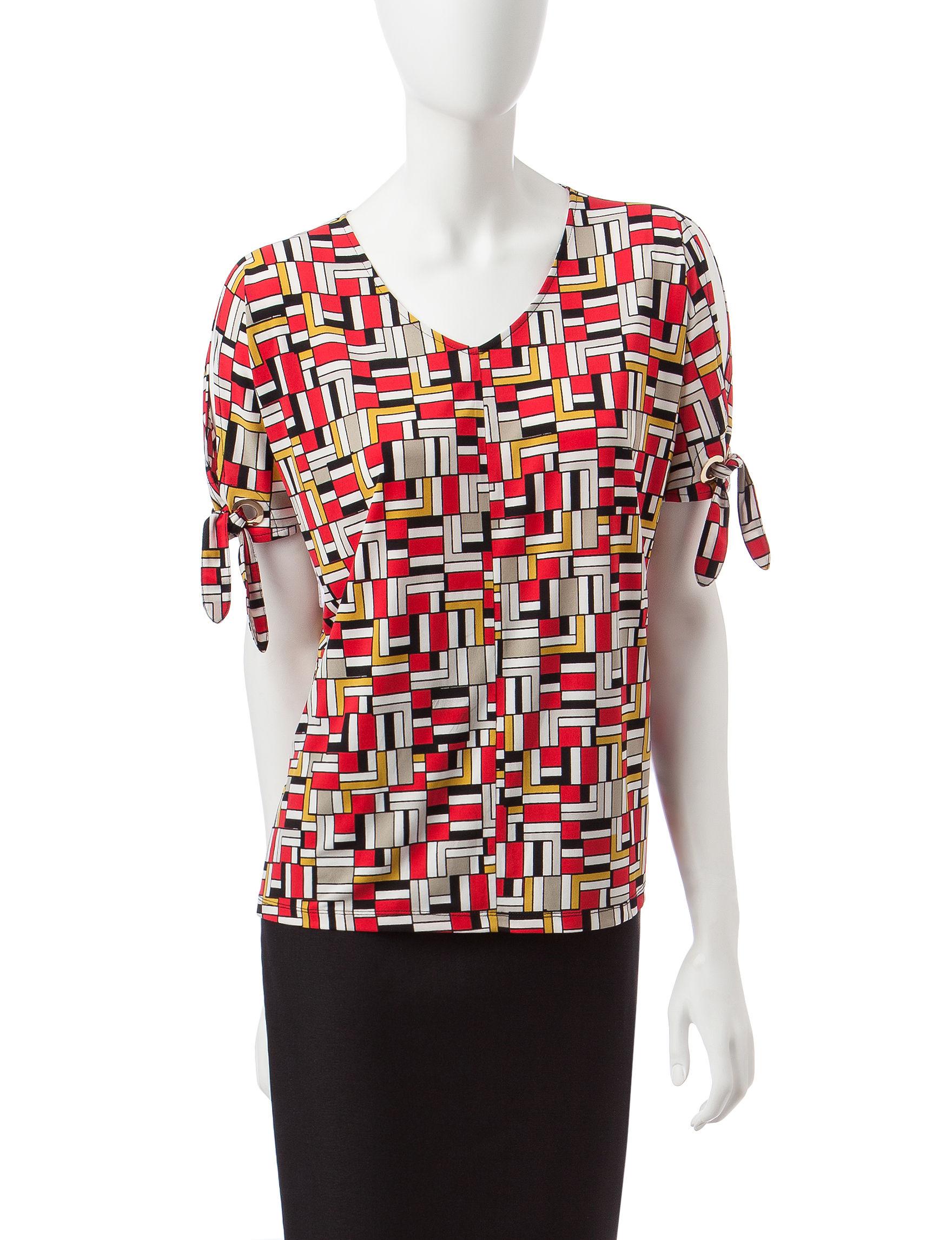 Kasper Multi Shirts & Blouses Tunics