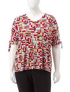 Kasper Tiger Lilly Shirts & Blouses
