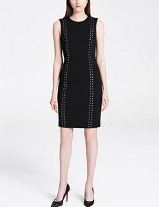 Calvin Klein Black Everyday & Casual Sheath Dresses