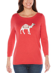 Rafaella Pink Everyday & Casual Pull-overs Shirts & Blouses Sweaters