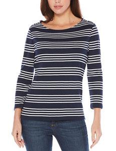 Rafaella Blue Pull-overs Shirts & Blouses