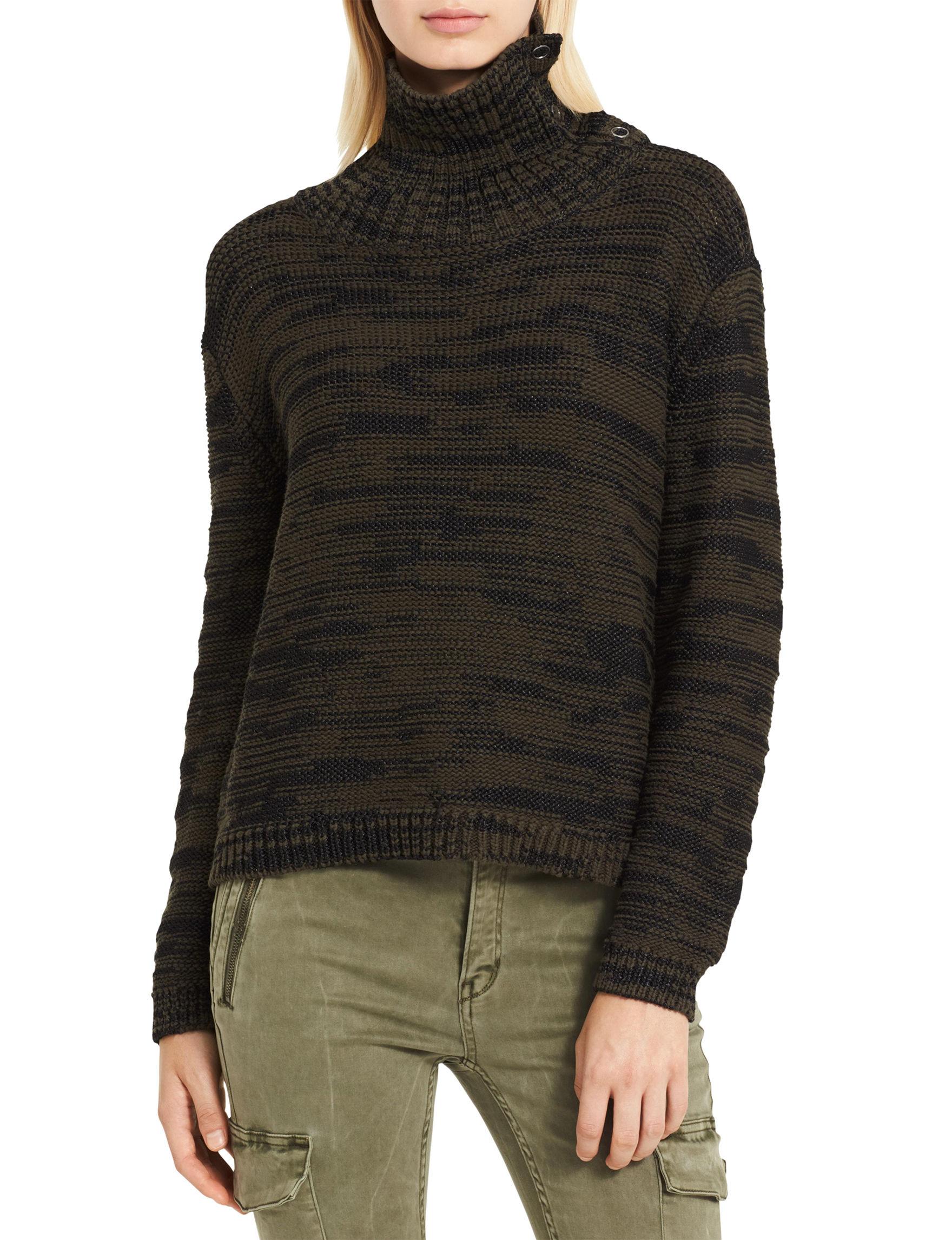 Calvin Klein Jeans Black Sweaters