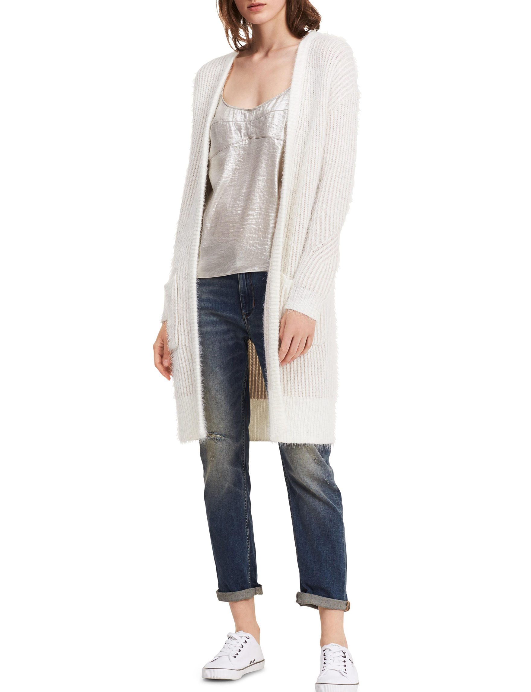 Calvin Klein Jeans White Cardigans