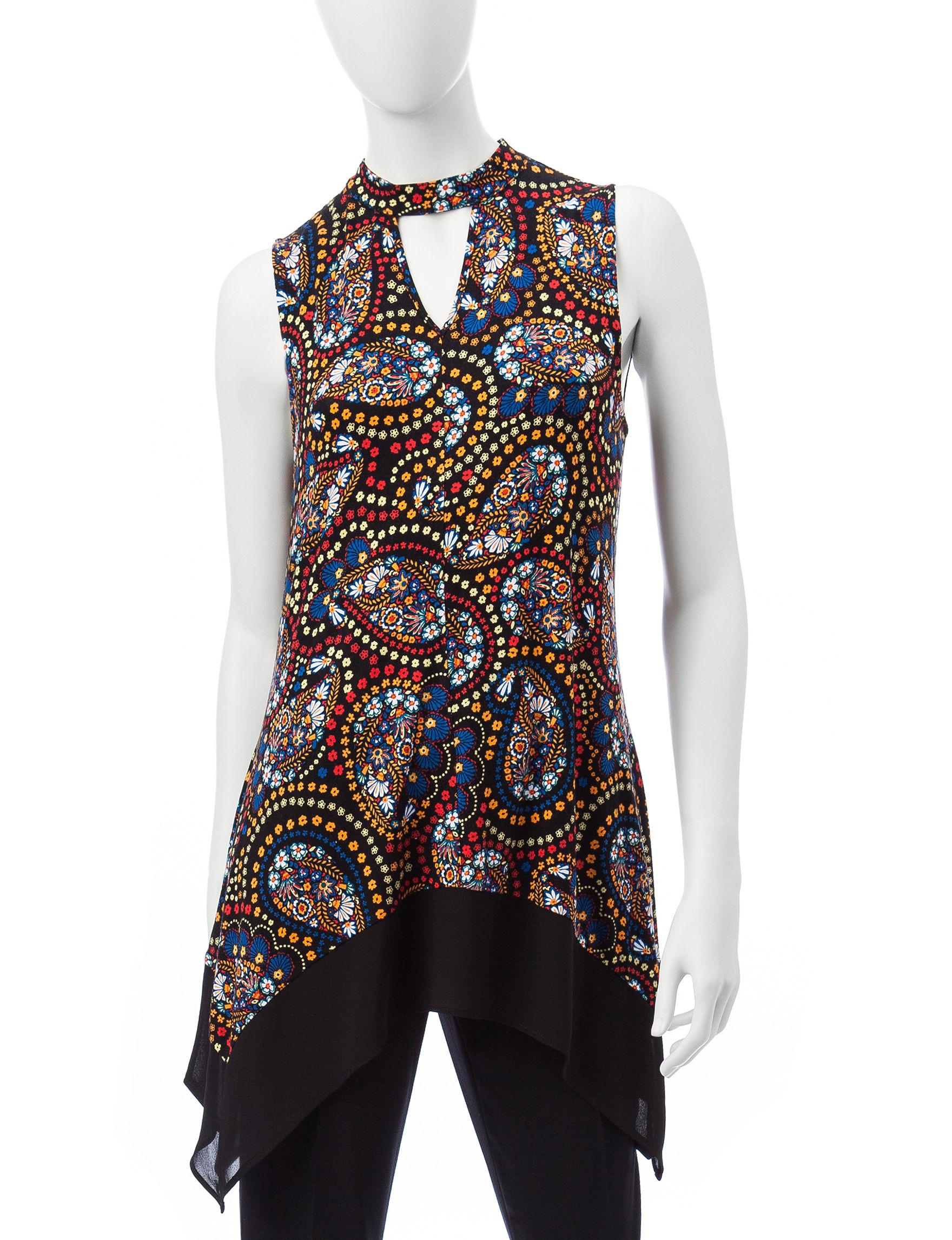 Valerie Stevens Paisley Pull-overs Shirts & Blouses