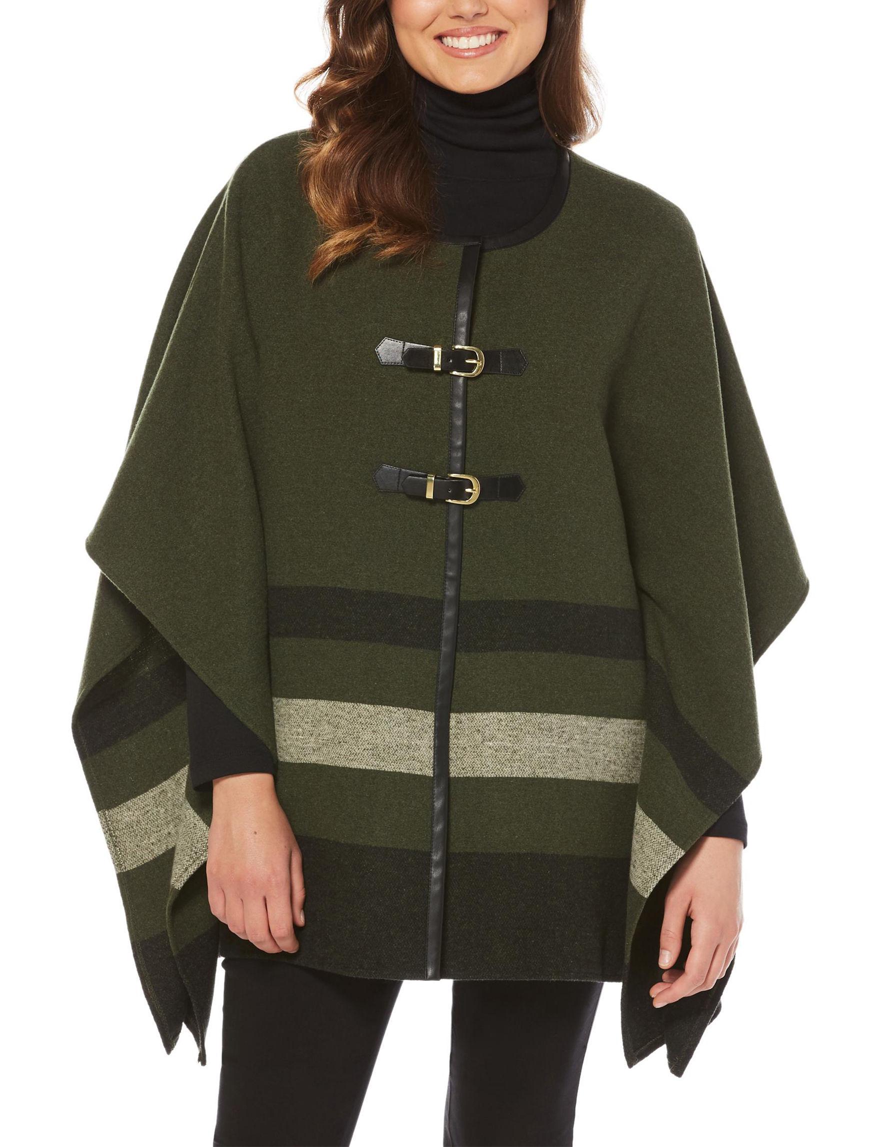 Rafaella Green Lightweight Jackets & Blazers Shirts & Blouses