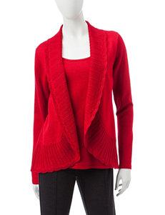 Rebecca Malone Red Sweaters