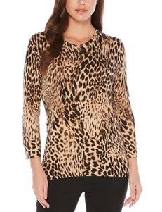 Rafaella Black Pull-overs Sweaters