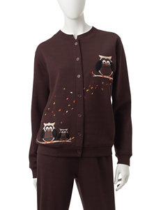 Rebecca Malone Brown Cardigans Sweaters