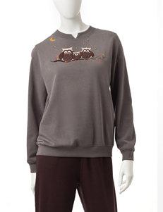 Rebecca Malone Charcoal Sweaters