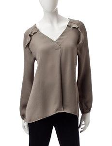 Valerie Stevens Olive Shirts & Blouses