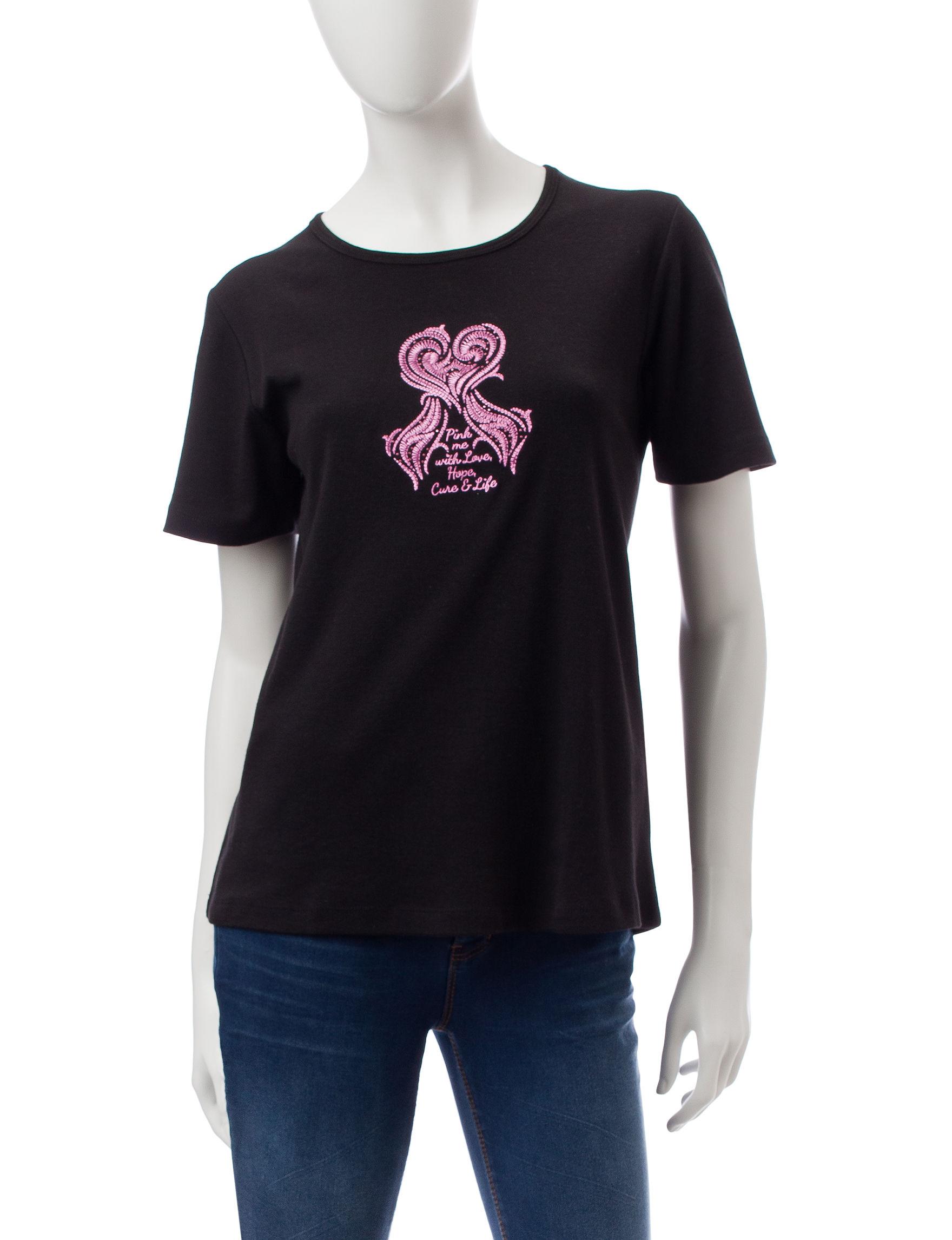 MCcc Sportswear Black Shirts & Blouses