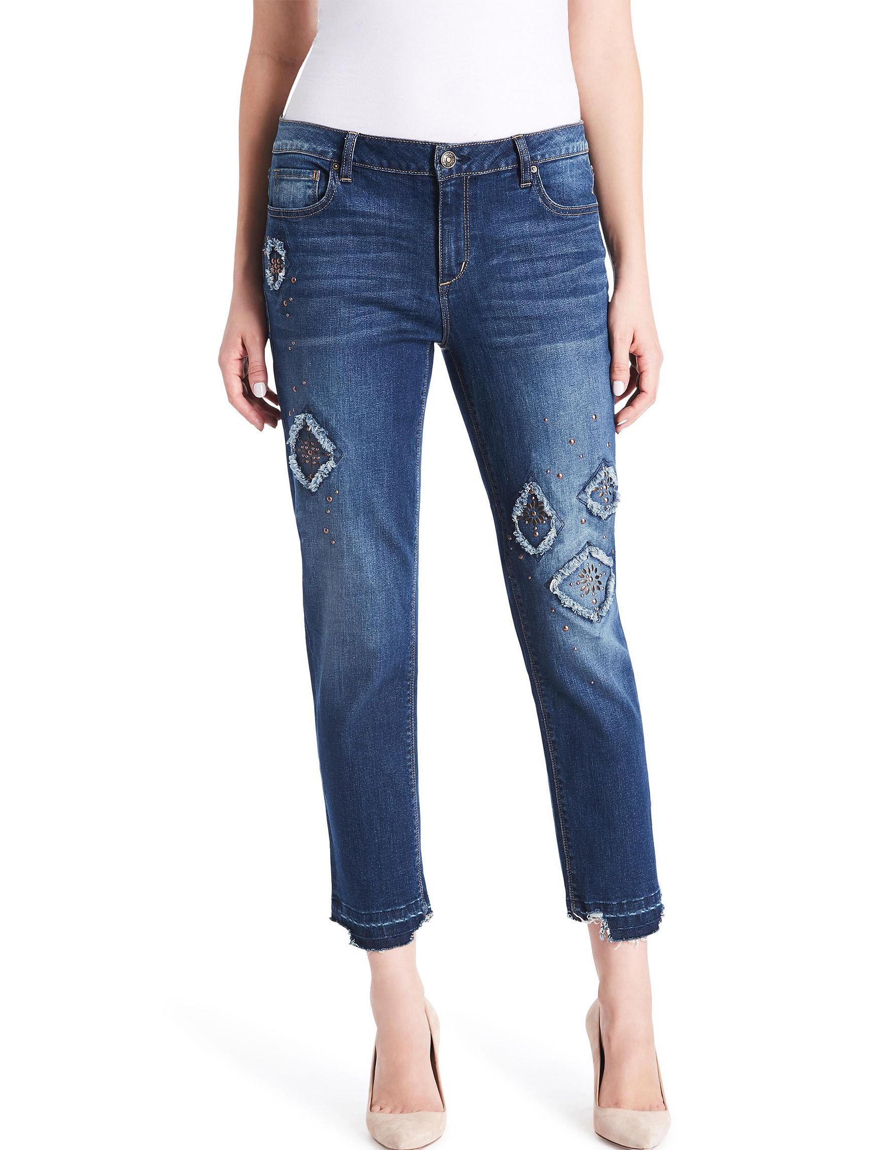 Vintage America Blues Blue Skinny Soft Pants