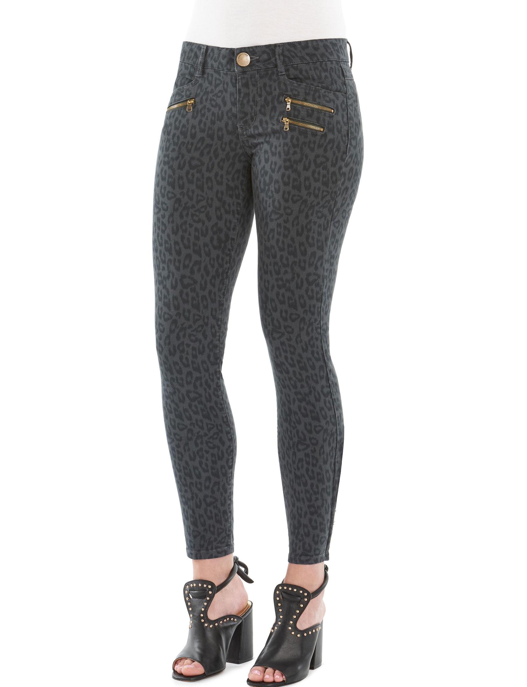 Democracy Grey / Black Soft Pants