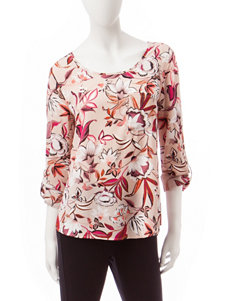 Valerie Stevens Blushing Pink Pull-overs Shirts & Blouses