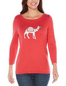 Rafaella Dark Pink Shirts & Blouses