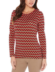 Rafaella Red Pull-overs Shirts & Blouses