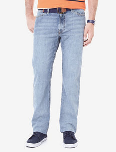 Nautica Straight Fit Light Wash Jeans