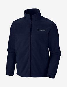 Columbia® Steens Mountain™ Full Zip Solid Color Fleece Jacket