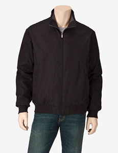 Weatherproof® Solid Color Microfiber Bomber Jacket – Men's
