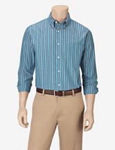 Sun River Turquoise Striped Woven Shirt – Men's