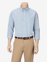 Sun River Turquoise Mini Check Woven Shirt – Men's