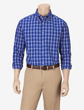 Sun River Blue Plaid Woven Shirt – Men's