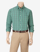 Sun River Green Plaid Woven Shirt – Men's