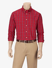 Sun River Red Plaid Woven Shirt – Men's