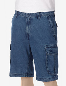 Sun River Denim Cargo Shorts
